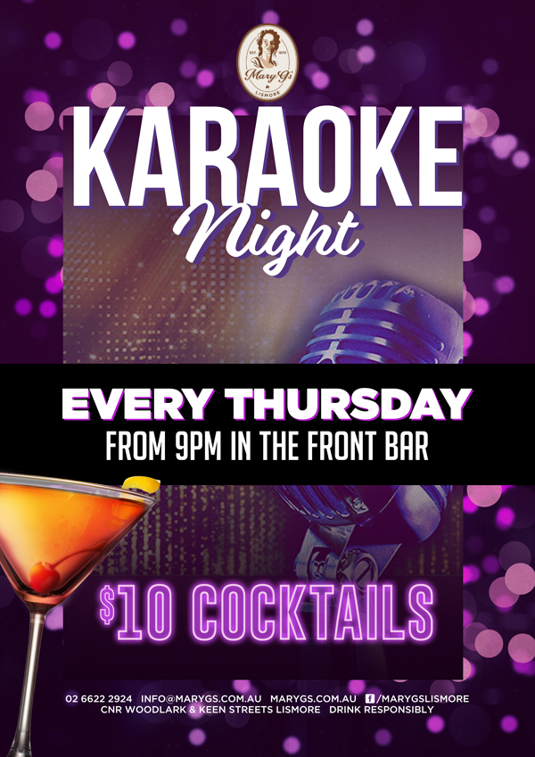Thursday Karaoke Web