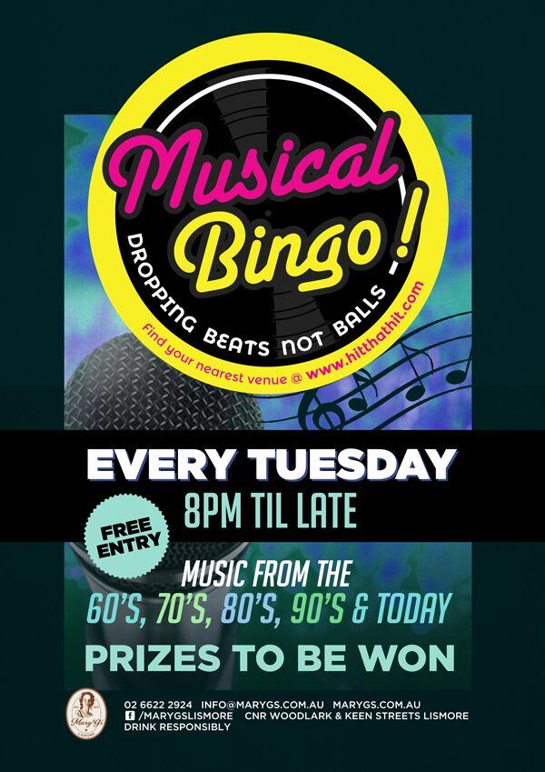 Tuesday Bingo Web