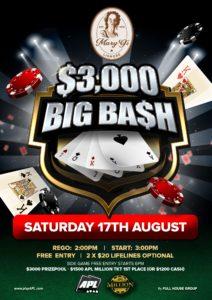 $3K Poker August