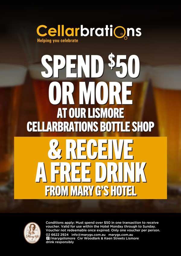 Cellarbrations - Free Drink