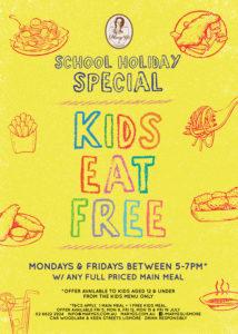 Kids Eat Free School Holidays Web