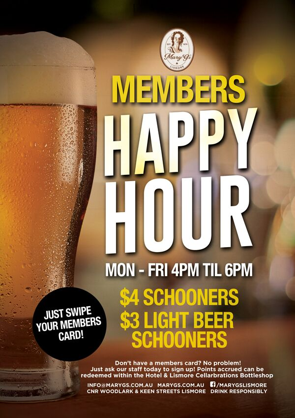 Members Happy Hour Web