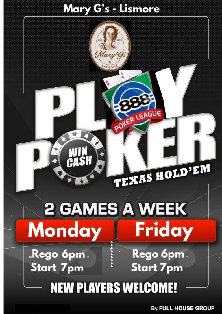 Poker Mon & Fri Web