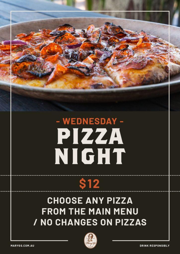 Wed Pizza Night Web